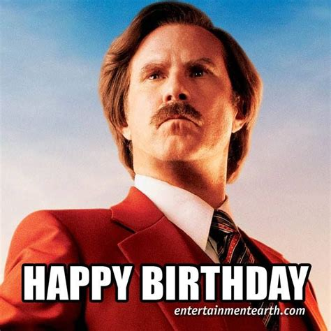 happy 47th birthday to will ferrell of anchorman