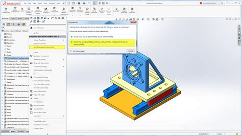 engineering graphics with solidworks 2018 and books sneak peek 2016 subassemblies with child components