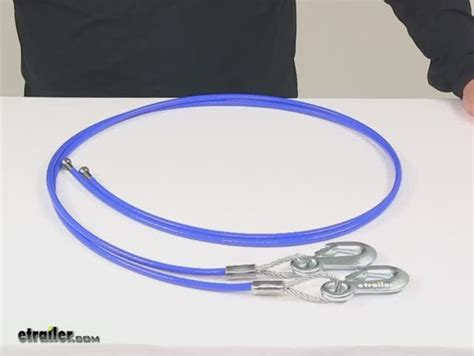 roadmaster ez hook safety cables 68 quot 8 000 lbs