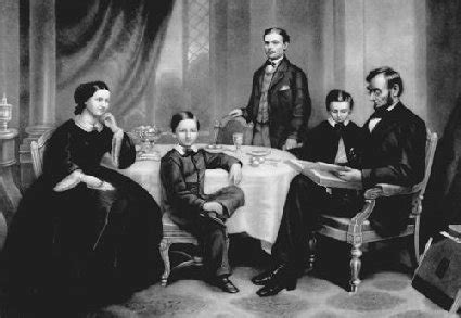 lincoln family a lincoln family thanksgiving president lincoln s