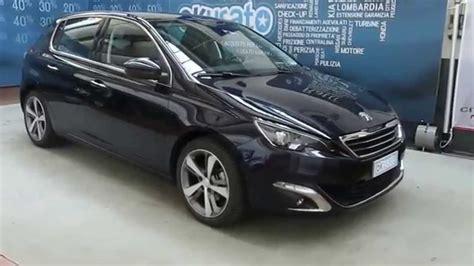 nuova peugeot 308 interni interni peugeot nuova 308 1 6 hdi auto aziendale