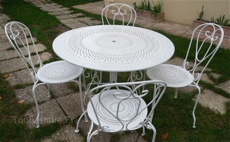 table fer jardin salon jardin fer forg 233 homeandgarden