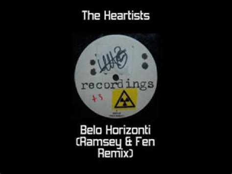 the heartists the heartists belo horizonti ramsey fen mix youtube