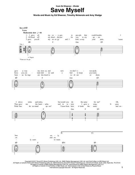ed sheeran save myself legendado chords chordify save myself by ed sheeran guitar rhythm tab guitar