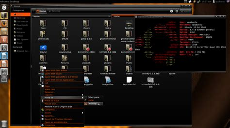 black themes ubuntu sway black base orange a nice dark gtk3 theme for unity
