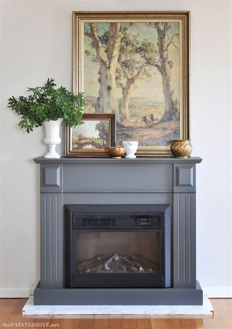 diy fireplace hearth the painted hive easy diy marble hearth and a