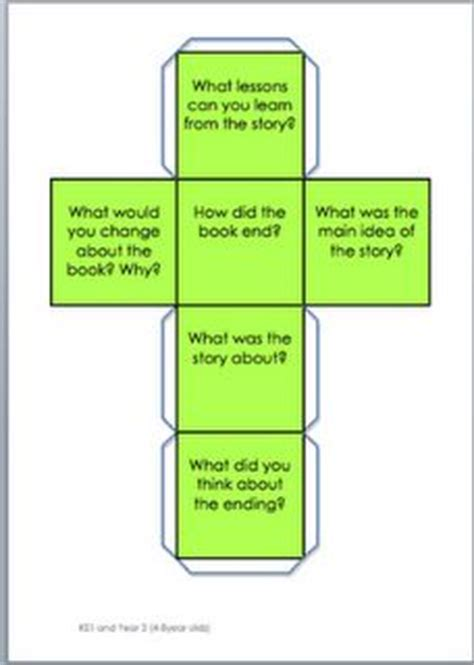 printable guided reading dice 213 best reading comprehension images on pinterest