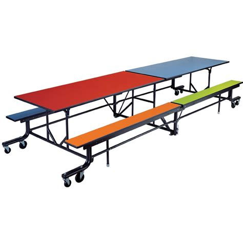 Dining Table Bench Length Rectangular Folding Tables With Benches Length 318