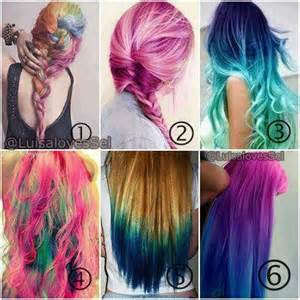 hair color designs husch