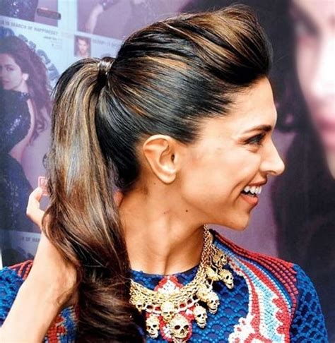 Indian Hairstyles Ponytail   easy breezy and effortlessly stylish indian hairstyles