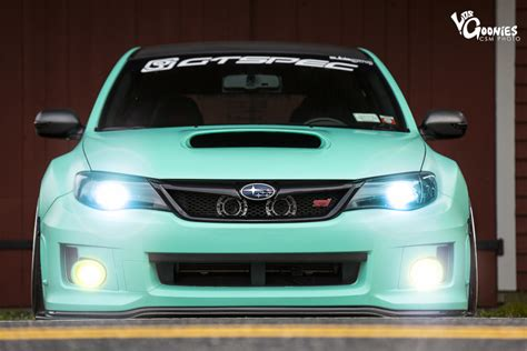 green subaru hatchback mint sti the anti rally epiphany ian galvez s 2011 wrx