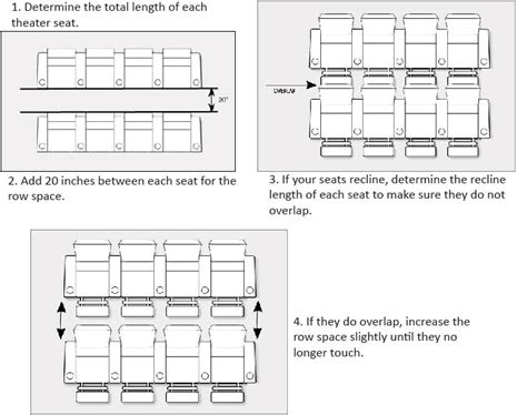 space seating home theater seating distance how to measure for home