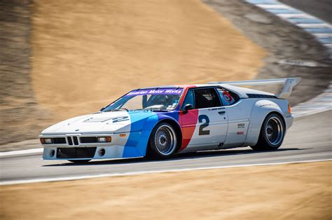 the one racing the mid engine bmw m1 supercar at mazda
