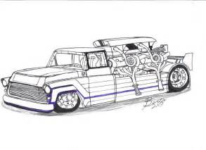 chevy trucks drawings cake ideas and designs
