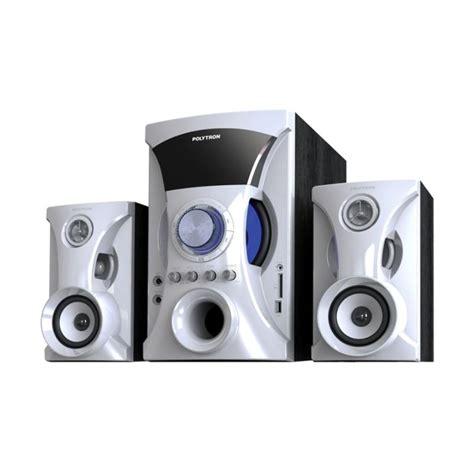 Speaker Stereo Polytron jual polytron pma 9505 multimedia audio speaker portabel
