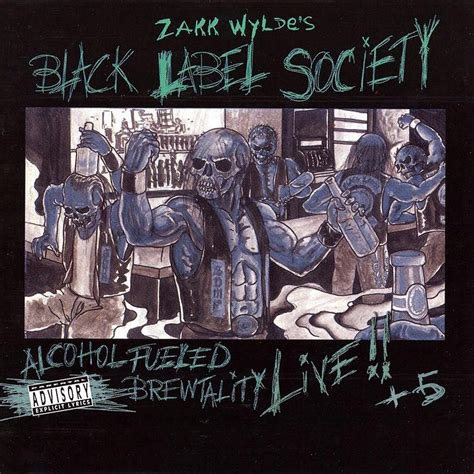 Black Label Society 5 Size M fueled brewtality live 5 by zakk wylde s black label society cd x 2 with vaderetro