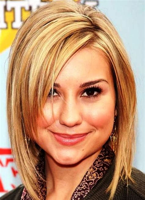 haircuts for round face women 20 round face hairstyles for womens round face