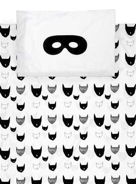 simple clean black and white bed design cat pattern unique simple black and