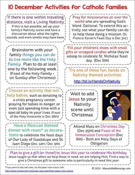 printable montessori st game paper super simple catholic christmas crafts to make with your kids