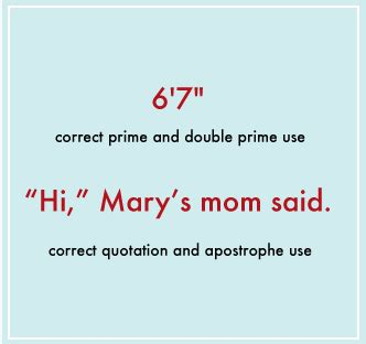 typography used in a sentence common typography mistakes apostrophes versus quotation marks web design ledger
