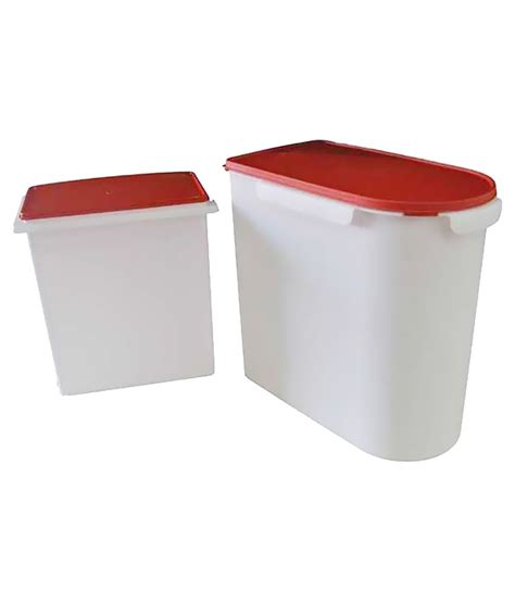 Snack Keeper Tupperware tupperware multikeeper and rice keeper 24 l 10 l plastic