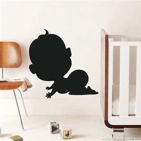 wall stickers for babies wall decals for babies baby silhouette wall decal