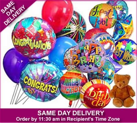 same day birthday balloon delivery balloon deliveries favors ideas