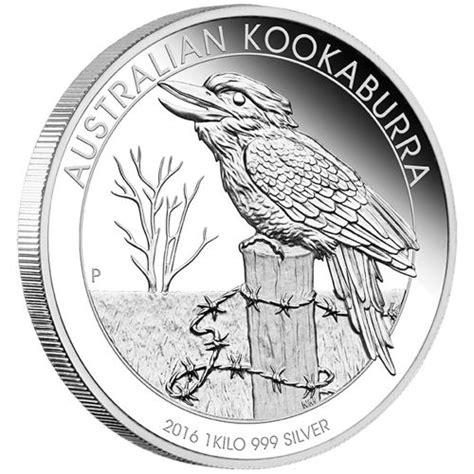 1 Kilo Australian Silver Kookaburra Coin - reduced australian kookaburra 2016 1 kilo silver proof