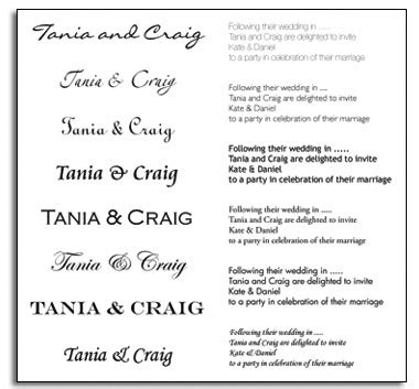 fonts for wedding invitations word 7 wedding invitation font sles images popular wedding