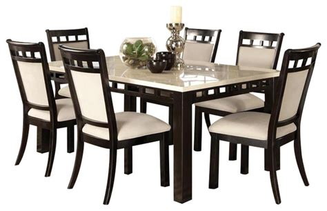 dining room sets for 8 standard furniture gateway white 8 dining room set in chicory brown traditional