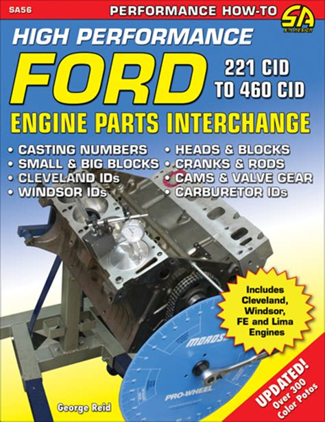 ford big block parts interchange books 1958 1982 how to rebuild big block ford engines