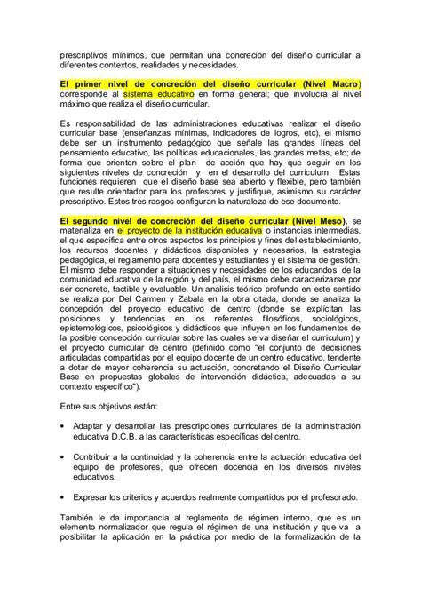 Diseño Curricular Dominicano Y Sus Caracteristicas El Dise 241 O Curricular Sus Tareas Componentes Y Niveles
