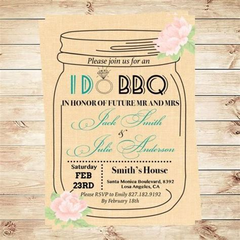 mason jar templates for invitations i do bbq invitation template mason jar invitation