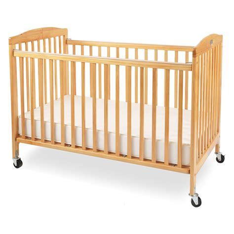 baby wooden cribs la baby size wood folding crib cribs at
