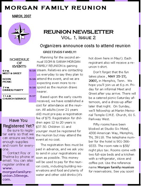 free family reunion letter templates pin sle family reunion planning letter ajilbabcom