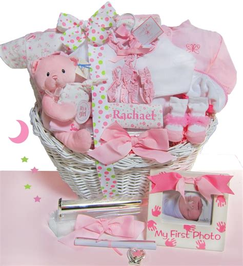 elegant beginnings luxury baby gift basket can be