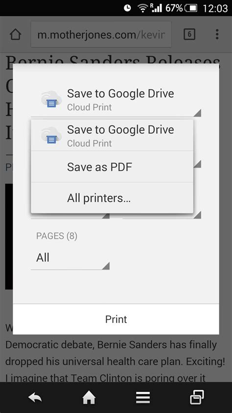 pdf printer for android how to save web as pdf for reading offline on your iphone or android