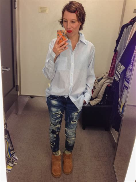 Dressing Room Selfies by Dressing Room Selfies From The Nordstrom Clearance Sale
