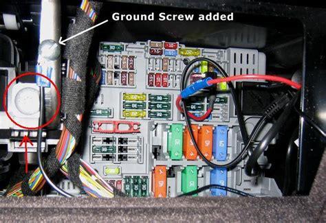 Bmw E90 Radar Detector Fuse Box Hardwire Installation By