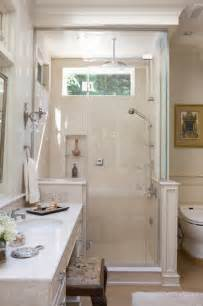 Small Master Bathroom by Small Master Bath In Chevy Chase Traditional Bathroom