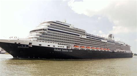 nieuw schip holland america line komt aan in rotterdam nos - Schip Holland Amerika Lijn In Rotterdam
