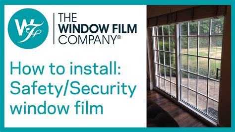 window security film how to install clear safety and security window films by