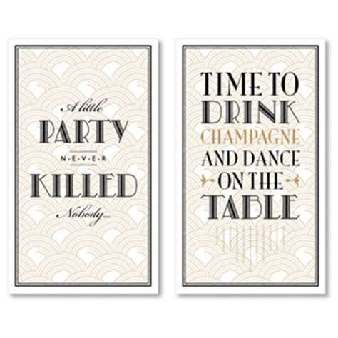 themed party quotes gatsby birthday party collection i heart to party
