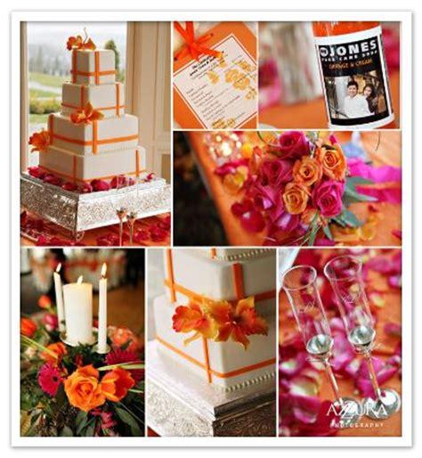 orange weddings set your wedding apart with great colors