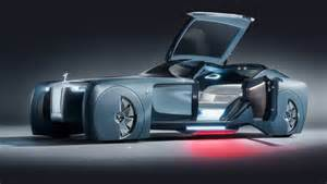 Prototype Electric Cars Of The Future Rolls Royce Vision 100 Concept Opulent Self Driving