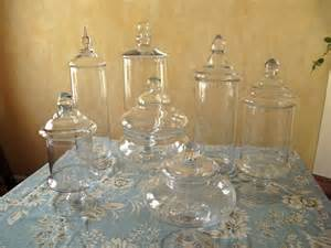 Glass Vases For Candy Bar Candy Bar Containers Clear Acrylic Riser Set Of 3 3 Inch
