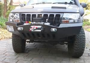 Jeep Wj Bumper 99 04 Jeep Grand Wj Front Winch Bumper