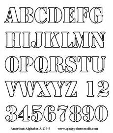 Lettering Templates Free Free Alphabet Stencils