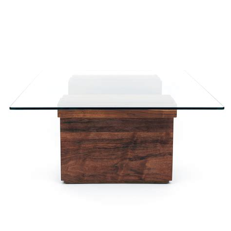 42 x 42 glass table top sqg glass top table walnut large 42 quot l x 30 quot w top
