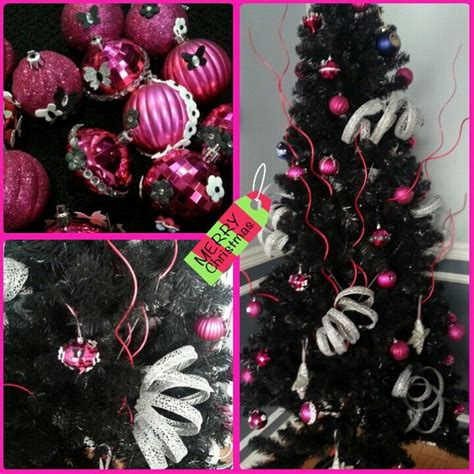 17 best images about black christmas tree on pinterest